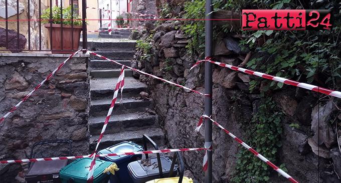 PATTI – Situazione igienico-ambientale precaria fra le vie Garibaldi e Nicolò Gatto Ceraolo. Autentica vergogna