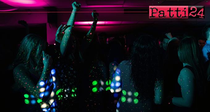 MESSINA – Movida. Chiusura di una discoteca in centro città.