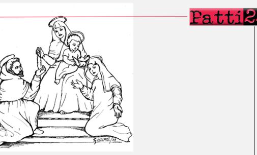BROLO – Composta lirica in onore della Madonna del Rosario.