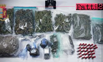 MESSINA – Nascondeva in casa più di 2 chili di marijuana e munizioni. Arrestato 21enne