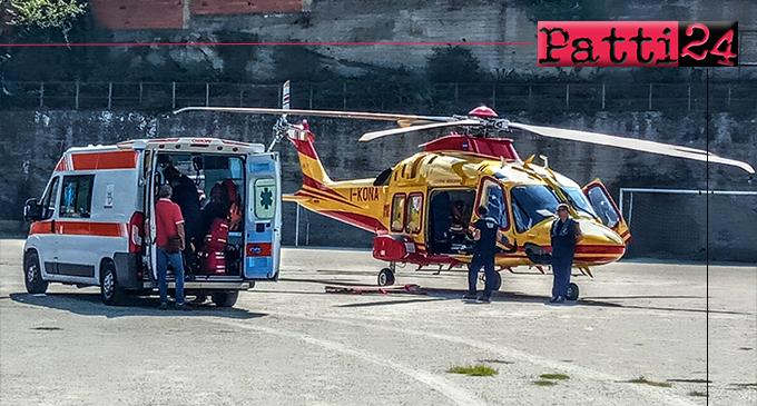 MONTALBANO ELICONA – A Braidi, anziano batte la testa violentemente in casa. Trasportato in codice rosso al Policlinico di Messina