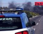 A20 – Incendio deposito di cavi. Chiusura autostrada fra Falcone e Barcellona P. G. direzione Messina