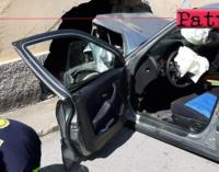 PATTI – Grave incidente stradale a Mongiove. Due feriti