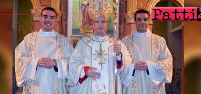 PATTI – Il 7 dicembre ordinazione sacerdotale dei diaconi don Giuseppe Lombardo e don Antonio Di Bella.