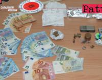 SAN FILIPPO DEL MELA – Detenzione ai fini di spaccio di stupefacenti. Due arresti.