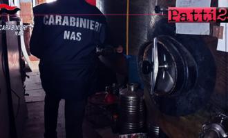 MESSINA – Controlli alla filiera olearia. Chiuso un deposito per pessime condizioni igienico sanitarie.