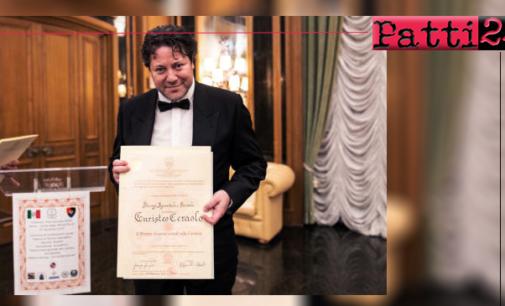 SANT'ANGELO DI BROLO – Ad Euristeo Ceraolo il XVI° Premio Internazionale ISFOA alla Carriera e per il sociale