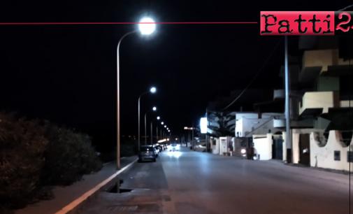 MILAZZO – Iniziati i lavori di riqualificazione energetica dell'impianto di illuminazione di Ponente