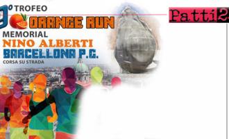 """BARCELLONA P.G. – Il 24 novembre, la seconda edizione di """"Orange Run""""."""