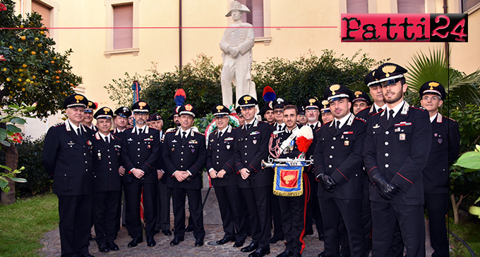 "MESSINA – ""Virgo Fidelis"". Deposta corona di alloro al monumento ai Caduti. Oggi pomeriggio Santa Messa a Tindari."