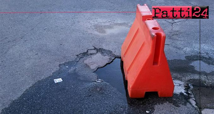 PATTI – Interventi guasti  alla rete idrica lenti e pulizia strade un optional.