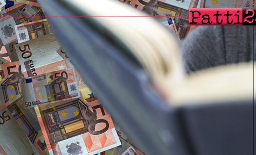 """PATTI – Assegnate due borse di studio """"Antonio Pisani Caccia"""" di 3.400  euro ciascuna."""