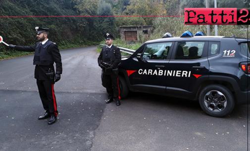 GALATI MAMERTINO – Evade dai domiciliari. Arrestato 55enne rintracciato a piedi per le vie centro abitato.