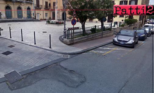 PATTI – Sosta. Disco orario in via XX Settembre, tra Piazza Marconi e incrocio via Giuseppe Verdi