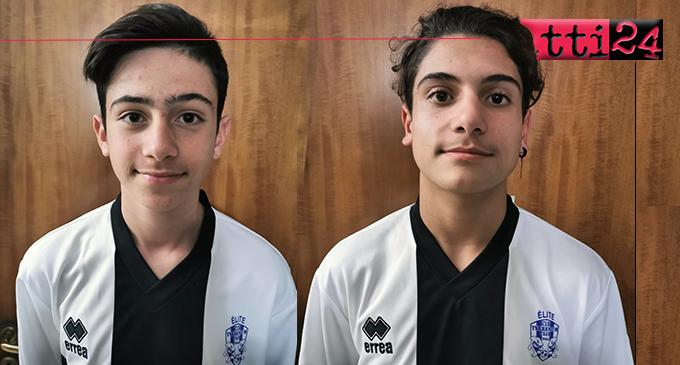PATTI – Crifò e De Luca della Scuola Calcio Elite Tyrrenium, parteciperanno al Parma Day.