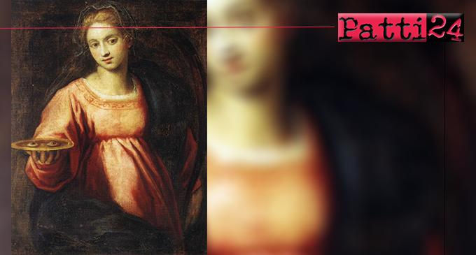 BROLO – Il poeta La Greca ha composto una poesia dedicata a Santa Lucia