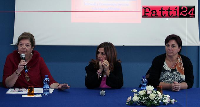 PATTI – Violenza di genere  e femminicidio. Testimonianze  di due mamme all'I.I.S. Borghese-Faranda.