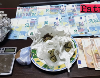 MESSINA – Sorpreso con cocaina e marijuana in casa. Arrestato 47enne