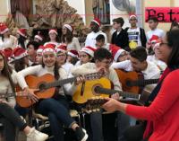 TORREGROTTA – Concerto di Natale con 180 musicisti e cantanti in erba dell'IC di Torregrotta