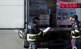 BARCELLONA P.G. – Sequestrati oltre 17.000 Kg. di succo d'Uva e circa 100 Kg.  di alimenti non idonei al consumo. 2 denunce