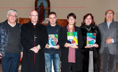 CAPO D'ORLANDO – Il Vescovo Mons. Giombanco in visita alla Mostra dei Presepi.