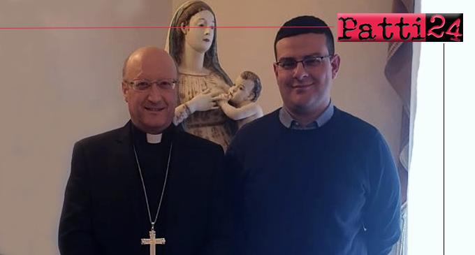 PATTI – Domenica, conferimento ministero dell'accolitato al seminarista Antonio Lo Presti di Naso.