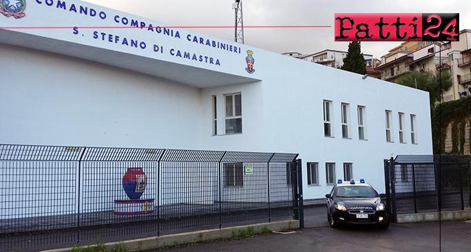 SANTO STEFANO DI CAMASTRA – Ruba auto ad Acquedolci, bloccato e  arrestato a Santo Stefano di Camastra.