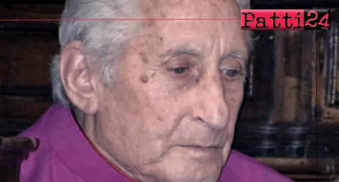 PATTI – E' morto don Luigi Lo Presti, Parroco emerito della Parrocchia San Giuseppe di Oliveri