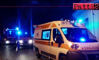 SAN PIERO PATTI – Divampato un incendio in un fabbricato abitato da diverse famiglie