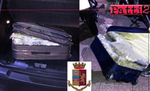 MESSINA – 20 chili di marijuana nel trolley. Due arresti al porto