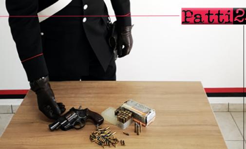 TAORMINA – Porto abusivo di arma, ricettazione, resistenza a pubblico ufficiale, danneggiamento. 3 arresti