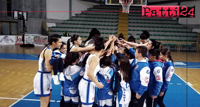 PATTI – Alma Basket Patti – Rescifina Messina (79-45)
