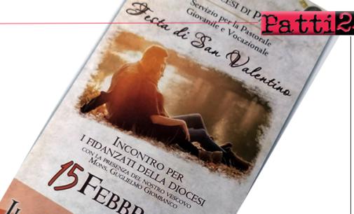 PATTI – Festa di San Valentino. Incontro a Tindari per i fidanzati della diocesi