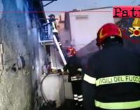 NIZZA DI SICILIA – Divampa incendio in abitazione. Decedute due donne ultra 90enni.
