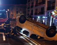 MESSINA – Incidente sul Viale Boccetta tra due auto, una si è ribaltata.