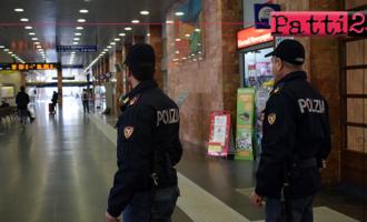 MESSINA – 50enne evade dai domiciliari e sale su un treno per Messina. Arrestato.