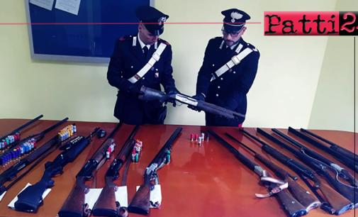 ALI' TERME – Porto abusivo di armi clandestine e attività venatoria fraudolenta. 3 arresti e 7 denunce.