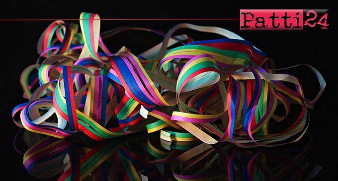PATTI – 58° Gran Carnevale Storico Pattese. Emesse disposizioni atte a tutelare l'incolumità pubblica, l'igiene e il decoro dell'ambiente.