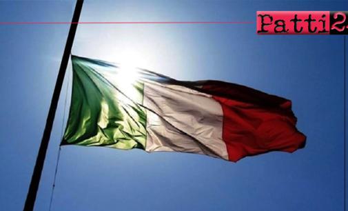 COVID-19 – Oggi, Martedì 31 marzo 2020 alle ore 12.00, un minuto di silenzio e bandiere a mezz'asta in tutti i Comuni d'Italia
