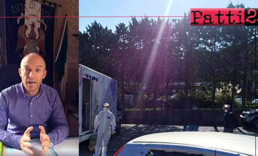 PATTI – Emergenza Covid-19. Il sindaco Aquino fa il punto della situazione