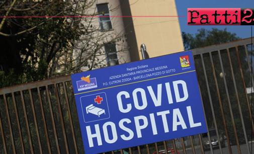 BARCELLONA P.G. – Emergenza Covid-19. Disposta la riconversione dell' Ospedale di Barcellona in Covid Hospital.