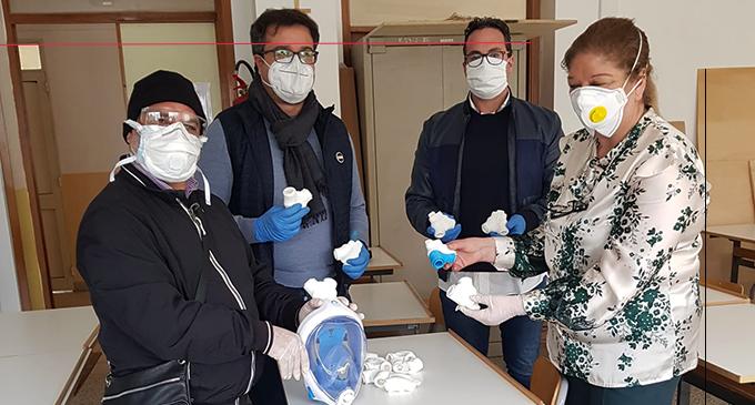 PATTI – Covid-19. Il Borghese Faranda e l'IC San Piero Patti donano all'Ospedale di Barcellona i raccordi Arta.