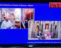 PATTI – Covid-19. Patti e Minori in diretta social nel nome della devozione a Santa Febronia Trofimena