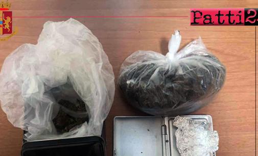 MESSINA – Vede la Volante e getta la marijuana, dietro una siepe. 33enne arrestato.