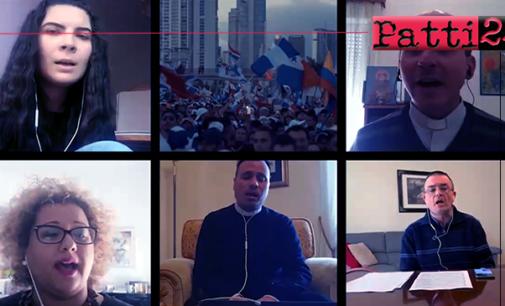 """PATTI – """"Re dei Re"""".  Videoclip dell'equipe di Pastorale Giovanile della diocesi"""