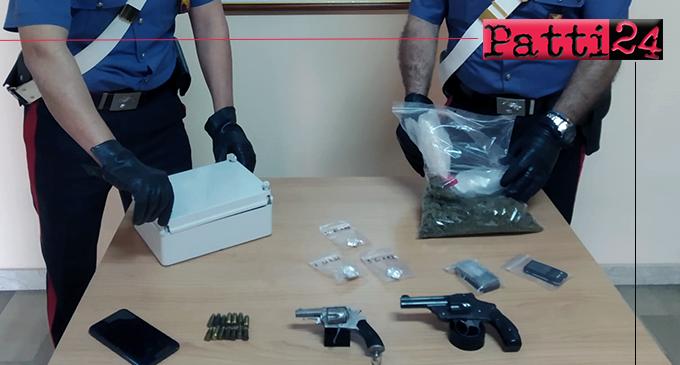 MESSINA – Nascondeva armi, munizioni e stupefacenti. Arrestato 32enne.