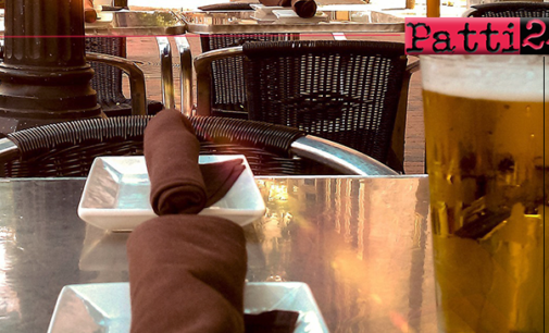 MILAZZO – Covid-19. Quota maggiore di suolo pubblico a bar e ristoranti, pubblicato il bando.