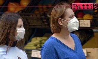 PATTI – Obbligo indossare la mascherina per accedere in negozi e uffici.