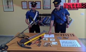 CESARO' – Ricercava oggetti nel sottosuolo. 37enne denunciato per reati in danno del patrimonio culturale.