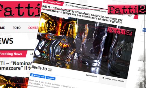"""PATTI 24 – """"Nomination"""" la sfida alcool social … tutto è opinabile tranne la volgarità e la mancanza di rispetto."""